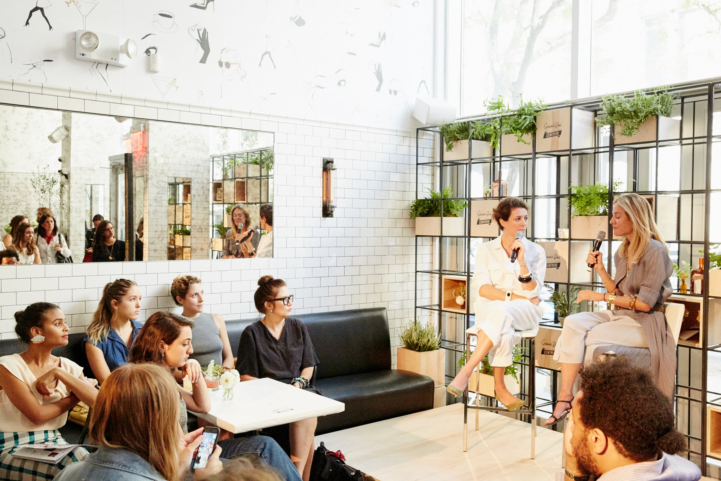 Cointreau's Garance Dore Pop Up for New York Fashion Week