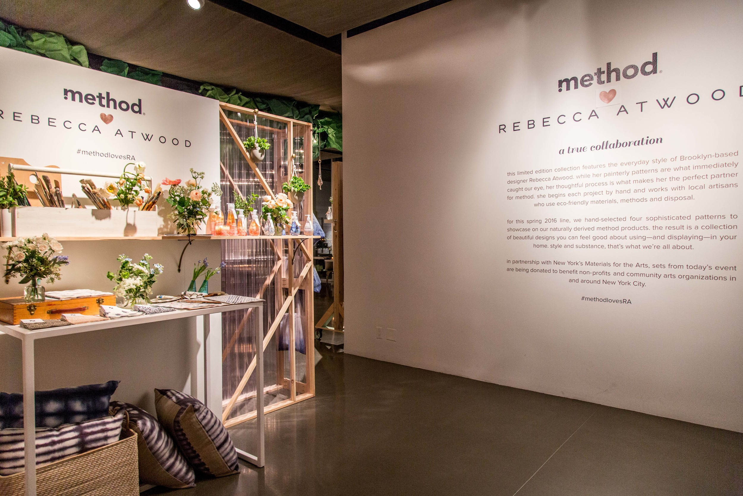 Method x Rebecca Atwood, New York Editor's Event
