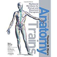 Tom Myers' groundbreaking work on the Anatomy Trains myofascial meridians.