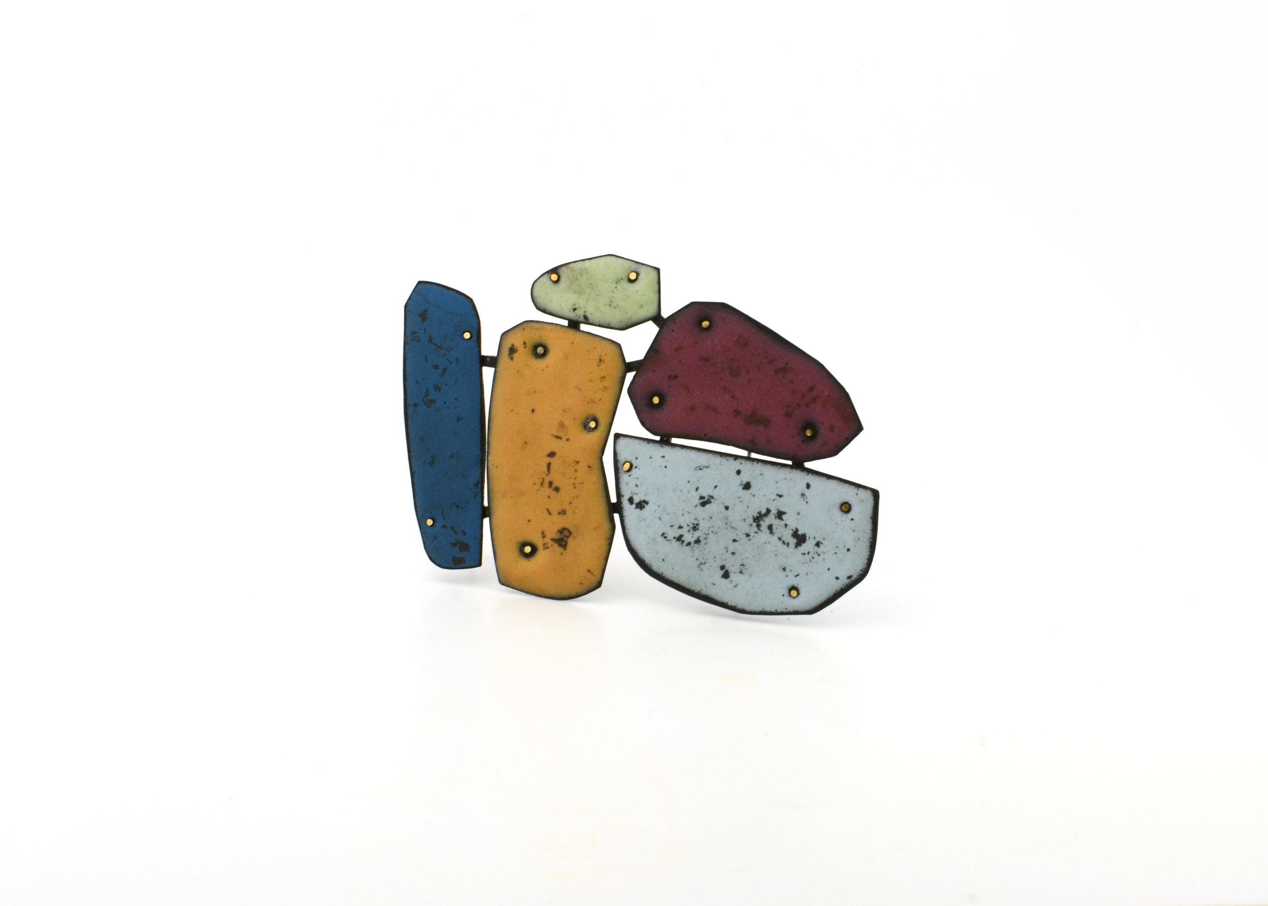 Colorscape Brooch 12