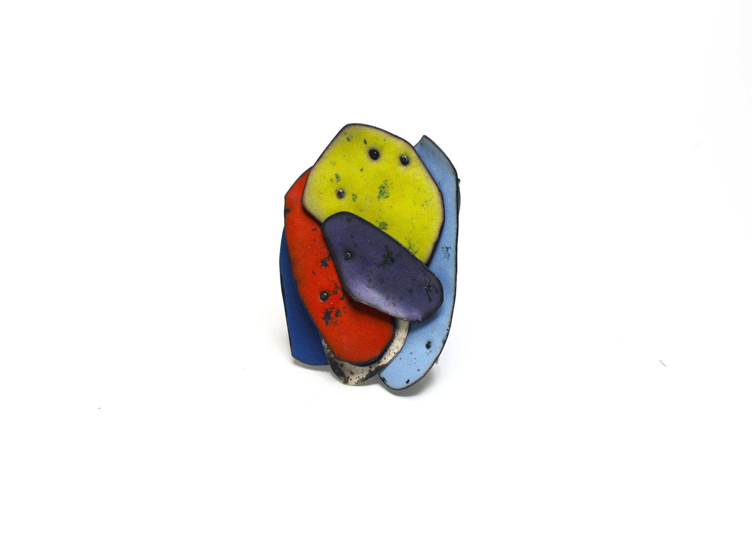 Colorscape Brooch 9