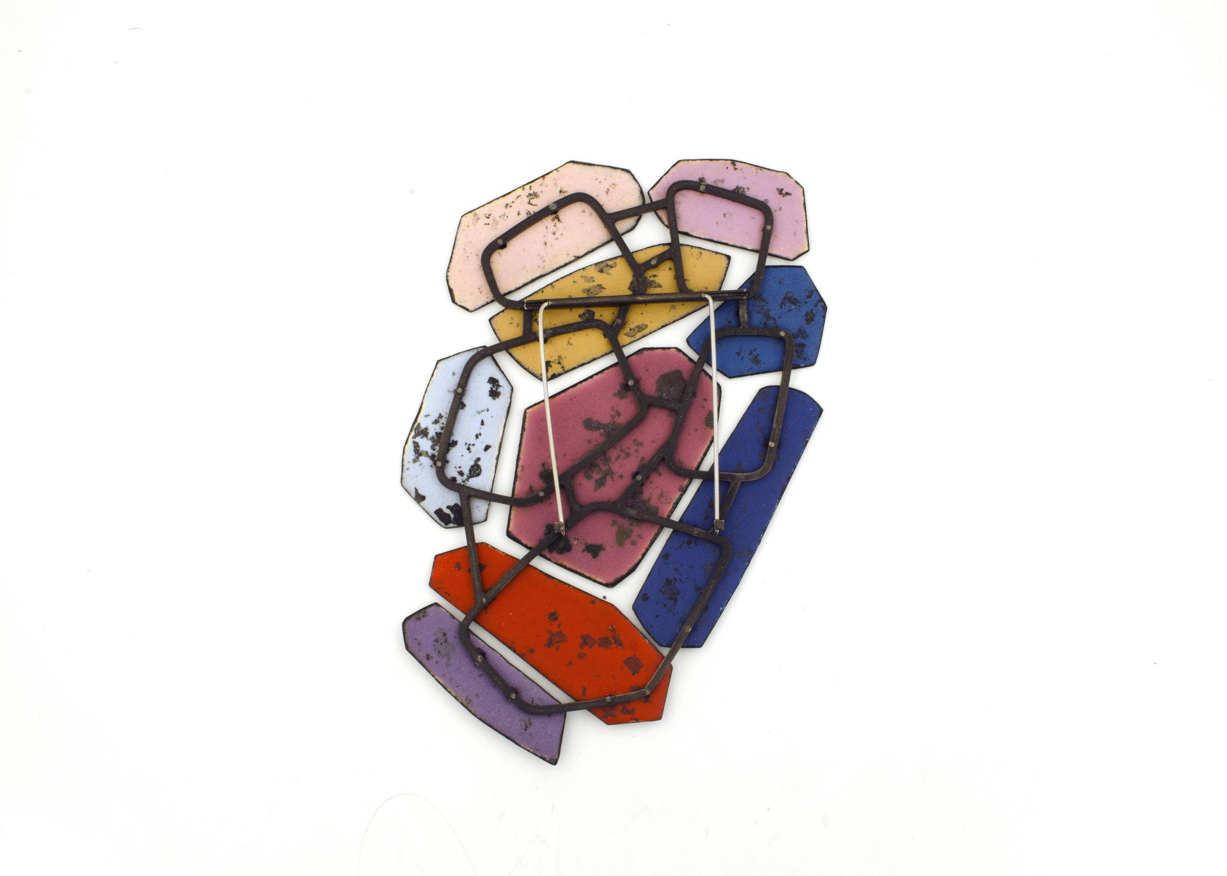 Colorscape Brooch 11