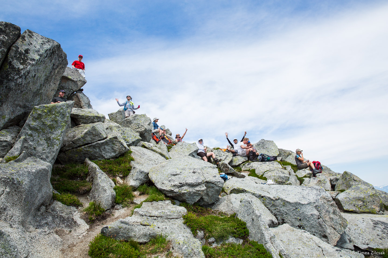 Vesper Peak Summit - the perfect lunch spot