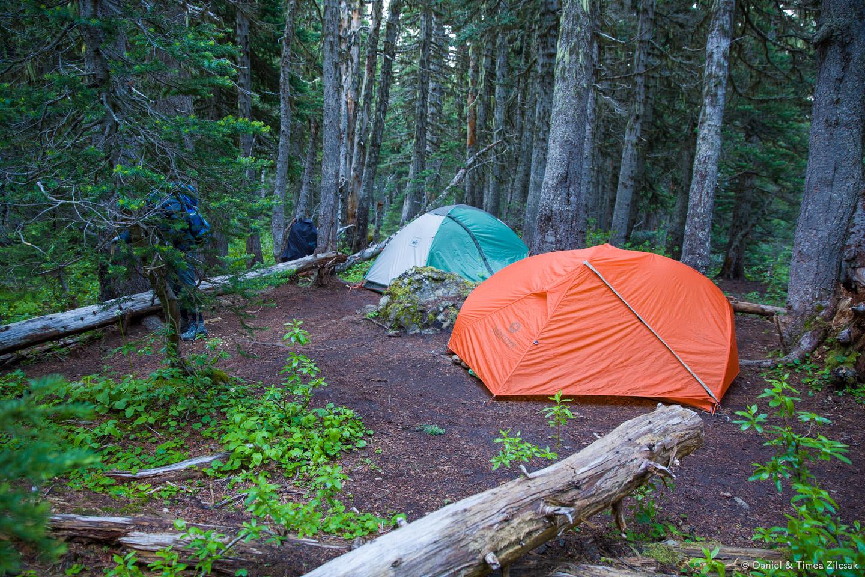 Camp Mystery, Marmot Pass