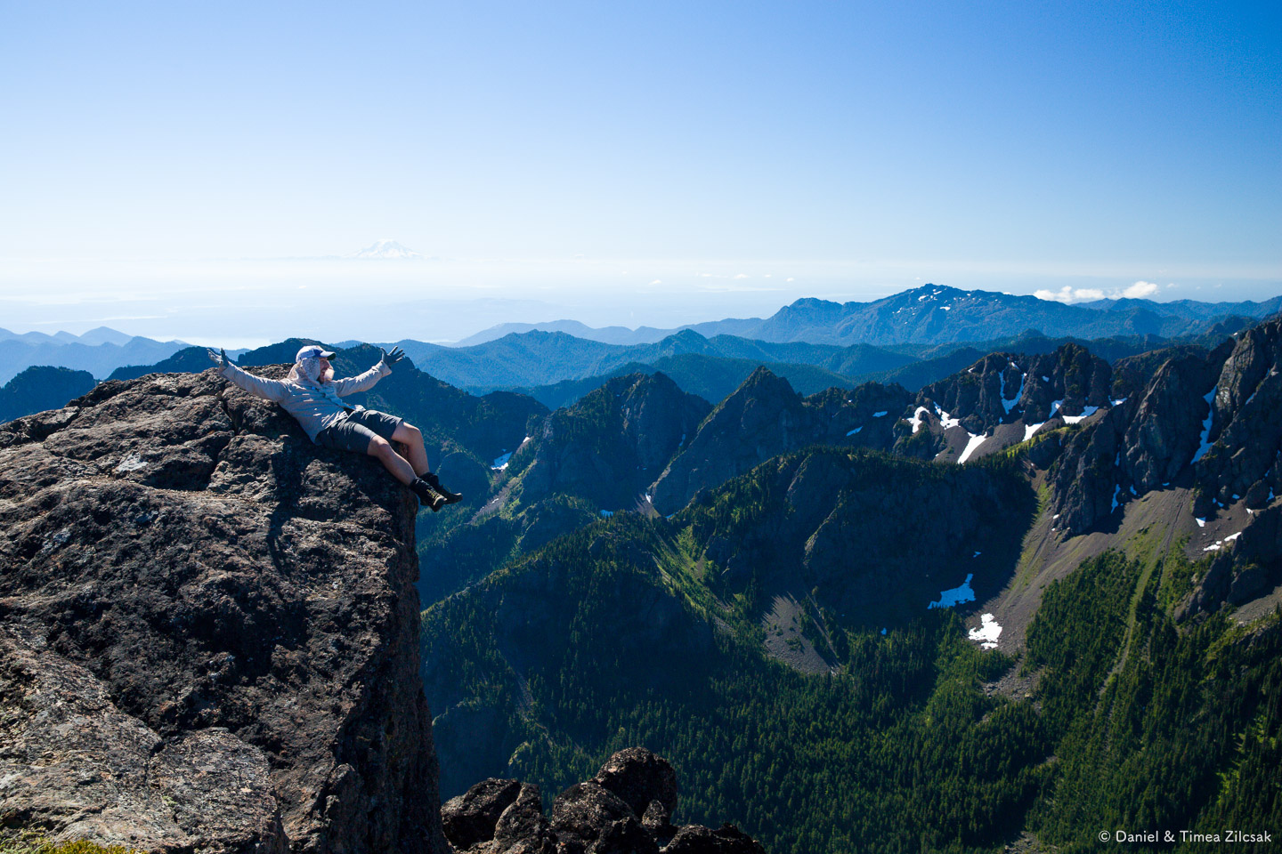 Mountains bring happiness in peoples' lives!