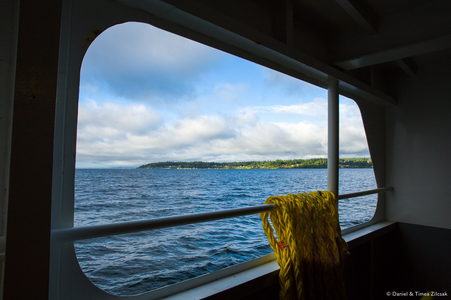 View from the Edmond/Kingston ferry