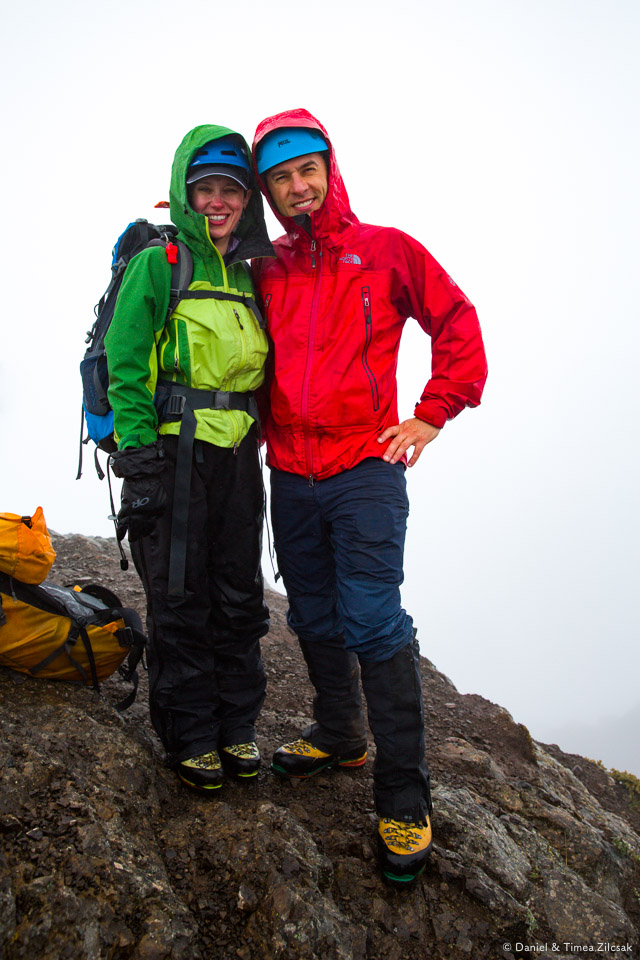 Timea and I on the summit of Mount Angeles, Olympic National Park