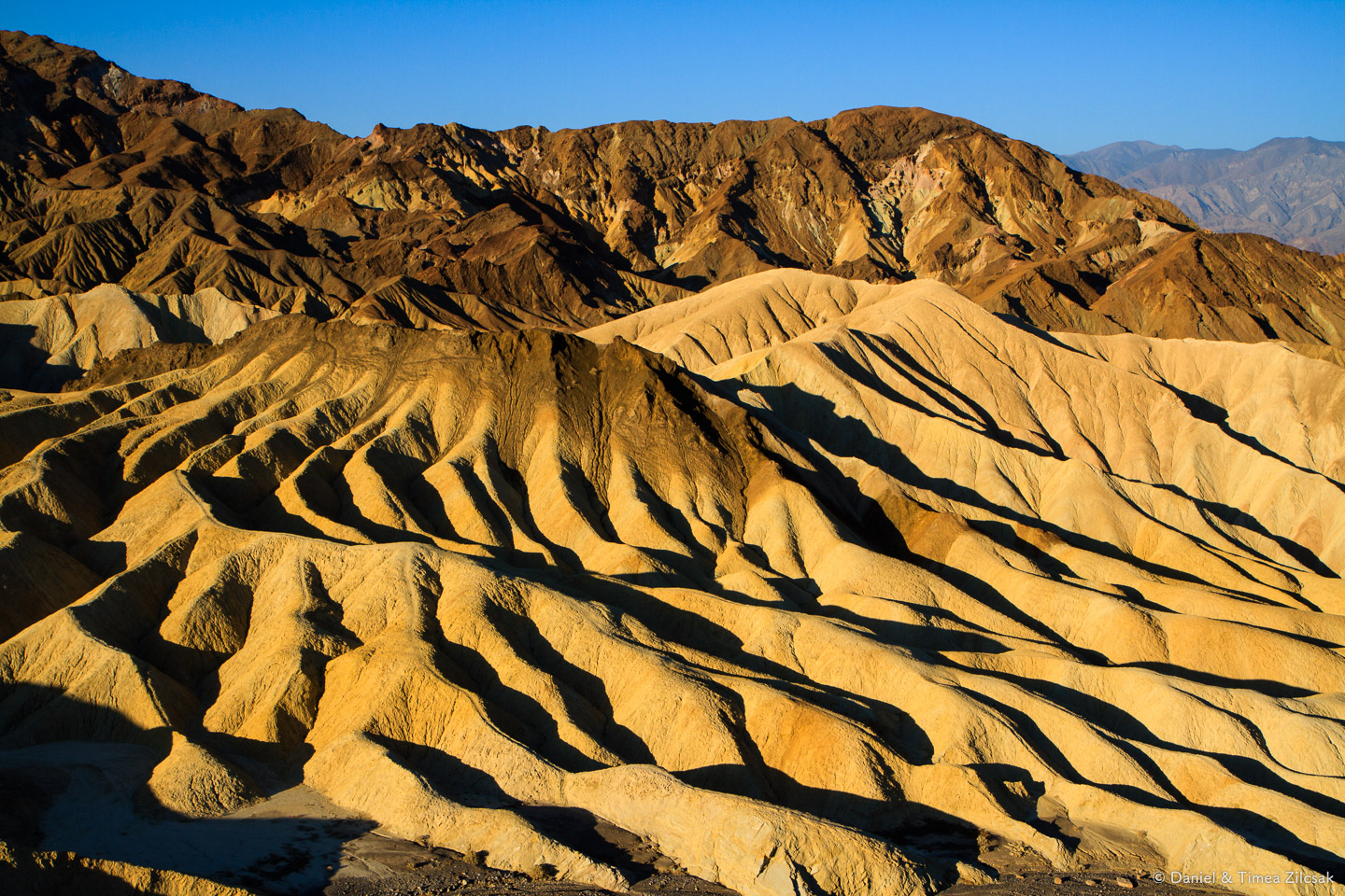 Zabriskie Point at Sunrise, Death Valley National Park Top 10 Must See