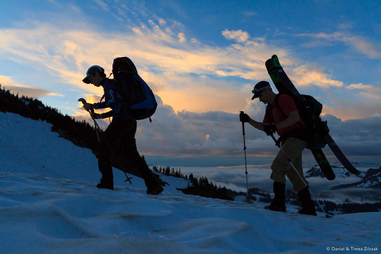 Hiking to Camp Muir on Skyline Trail right below Panorama Point, Mount Rainier Natioal Park- IMG_1271 © Zilcsak.jpg