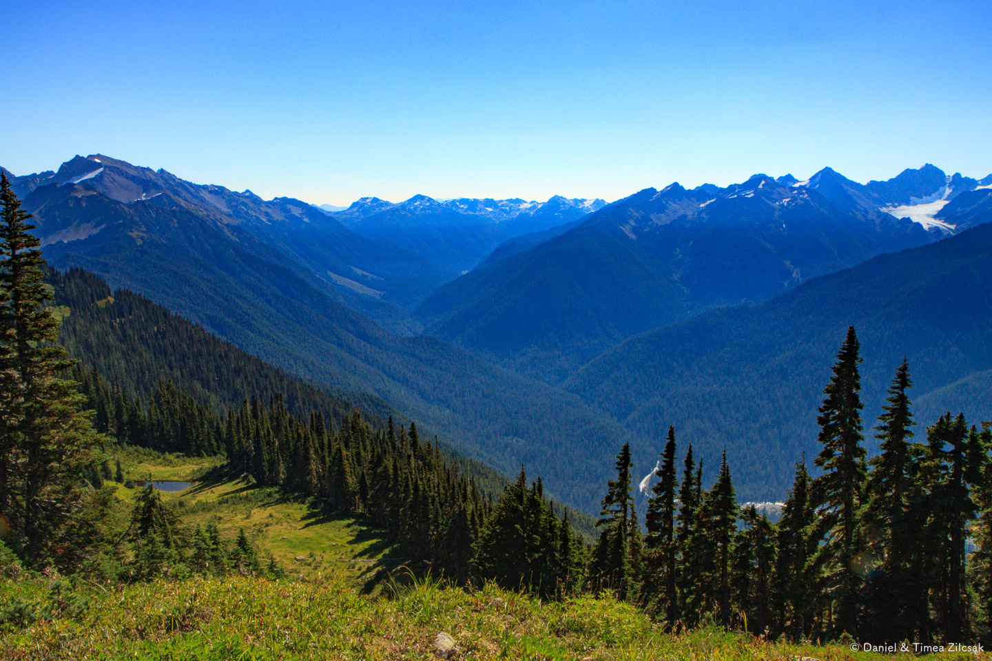 View from the High Divide Trail, Olympic National Park