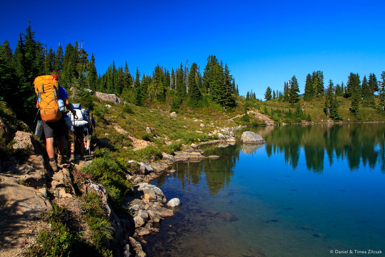 Hiking around Lunch Lake