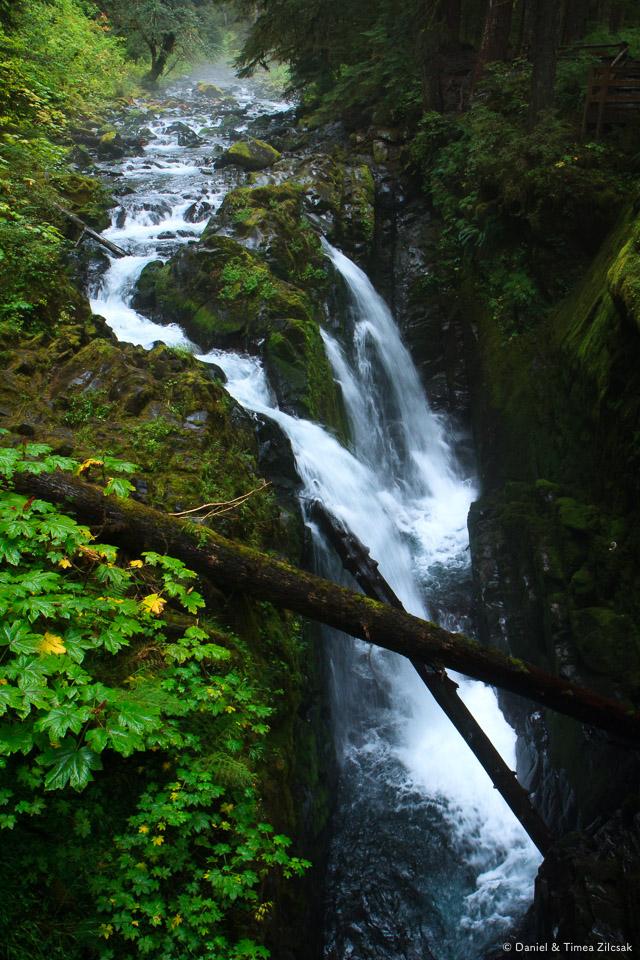 Sol Duc Waterfall, High Divide Trail