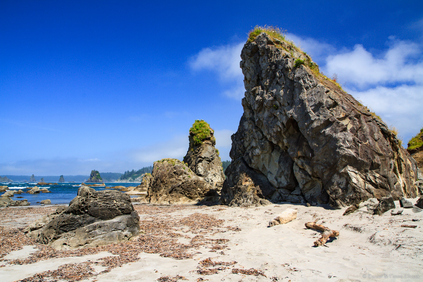 At the very tip of Toleak Point, South Coast Wilderness Trail, O