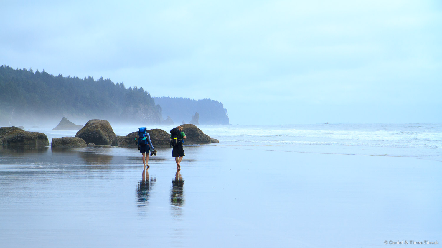 Backpacking barefoot on the Olympics' South Coast Wilderness Trail