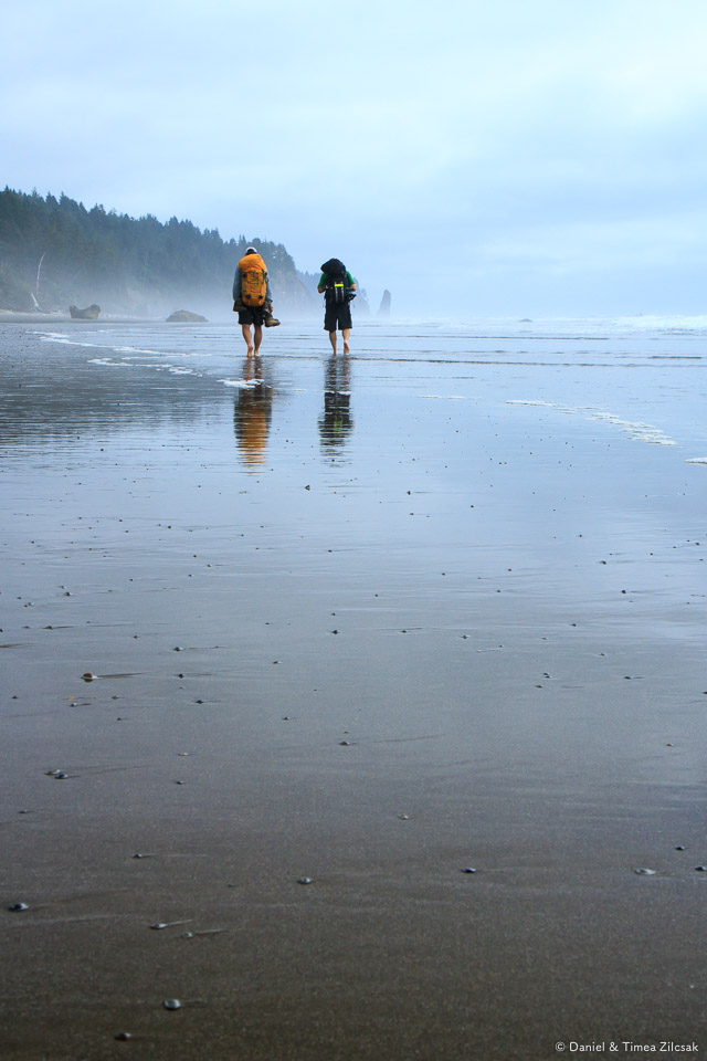 Backpacking barefoot on the Olympics' South Coast Wilderness Tra