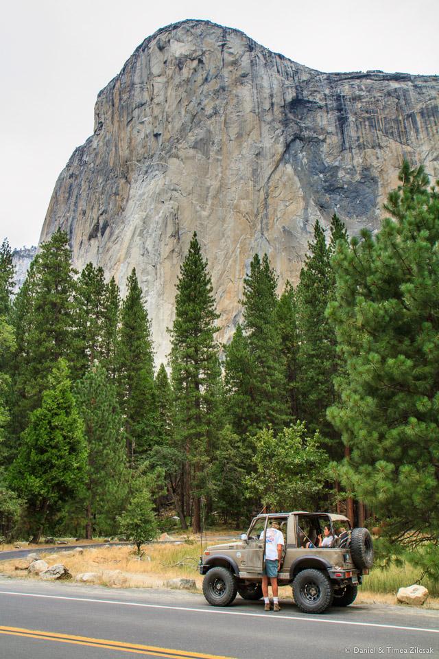 El Capitan from Yosemite Valley
