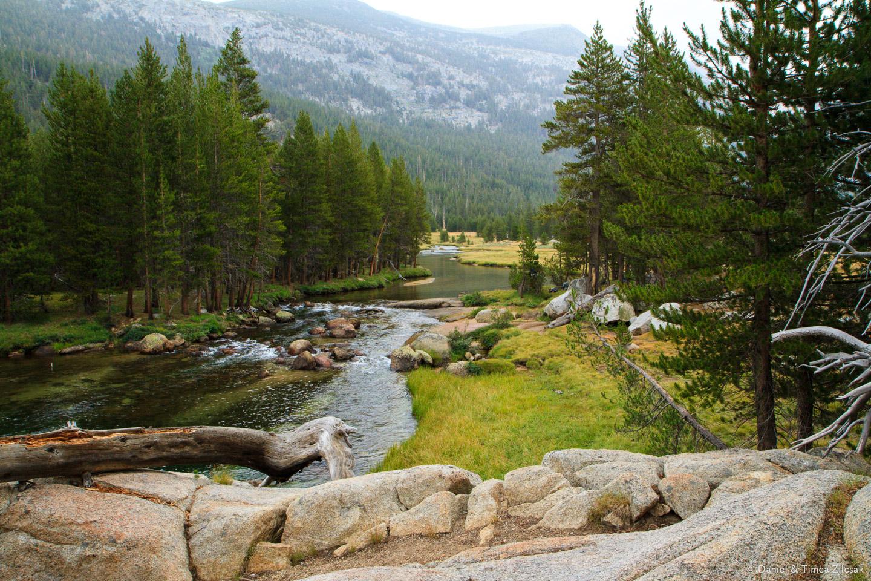 Lyell Fork of the Tuolumne River - Backpacking Yosemite