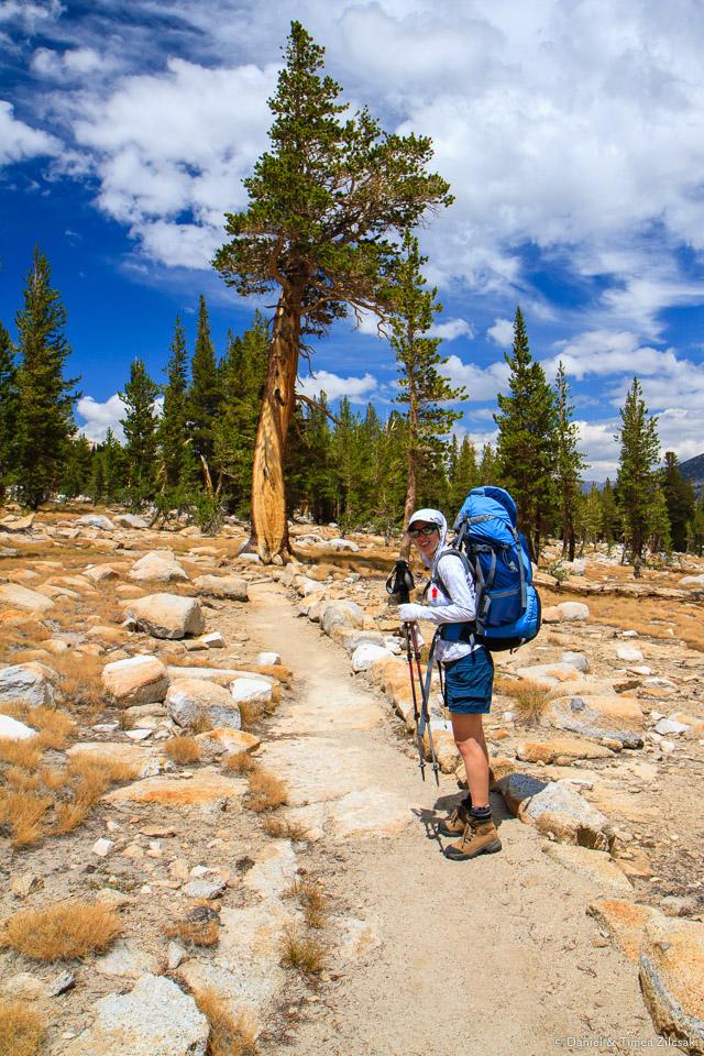 Into the alpine zone - Backpacking Yosemite