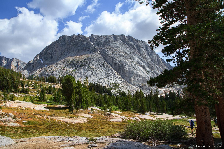 Fletcher Peak, about 11400 ft high - Backpacking Yosemite