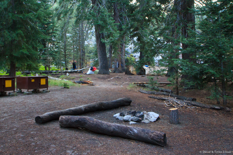 Camp at Merced Lake