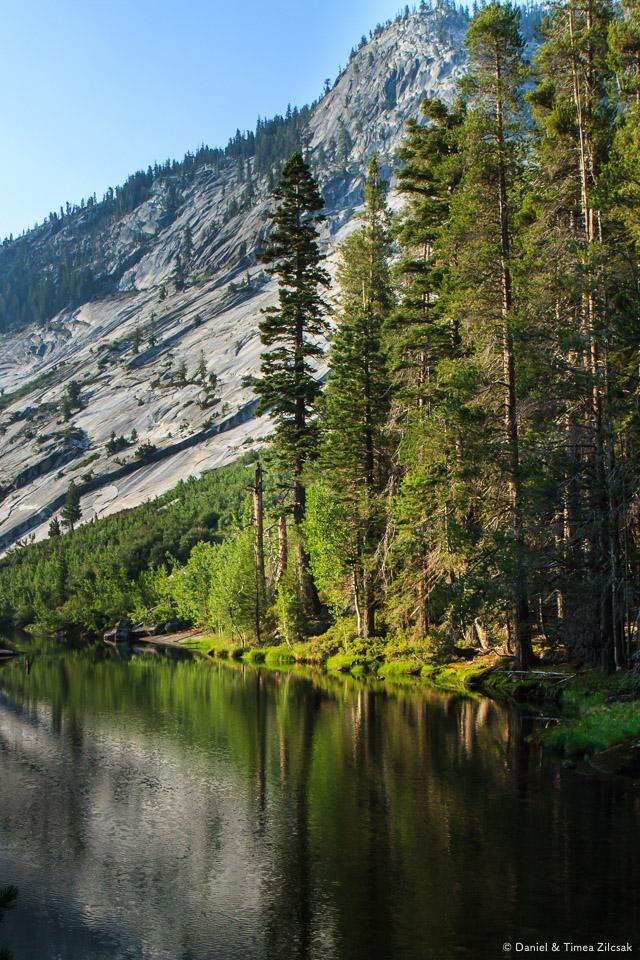 Merced Lake early morning reflection, Yosemite National Park