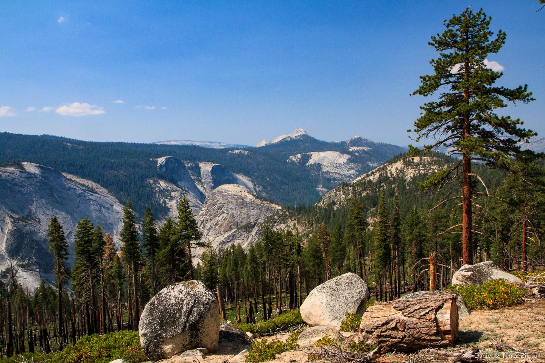 Backpacking through Yosemite National Park