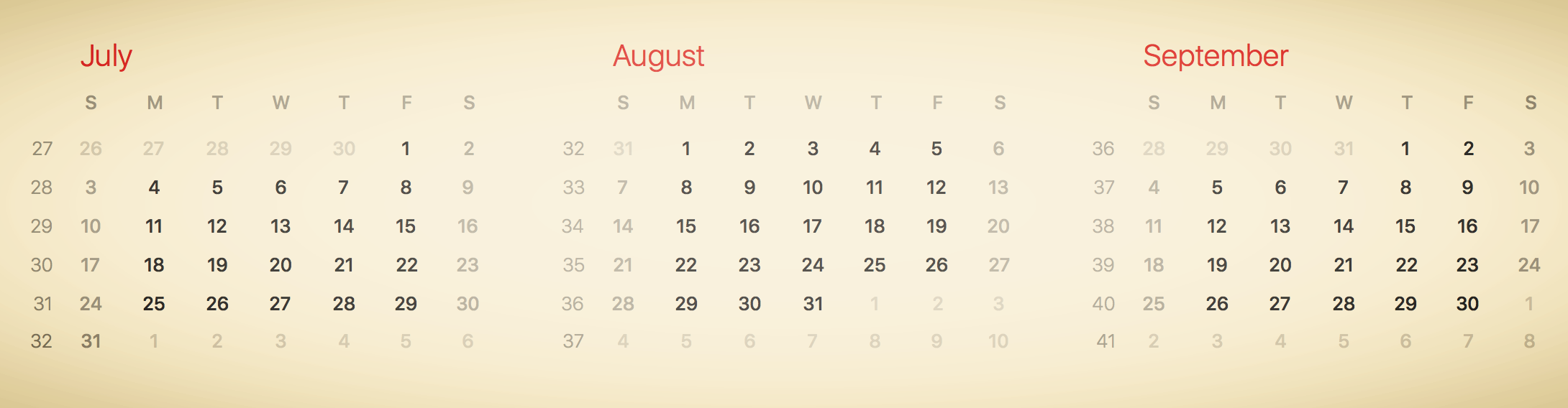 Our Planned Start Date Window: July 10 - Aug 22, 2016; Actual Trip: August 8 - August 25, 2016 (18 days)