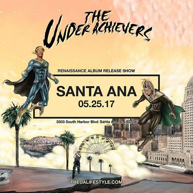 Just added a Santa Ana show! See you guys there! Get your tickets at theualifestyle.com