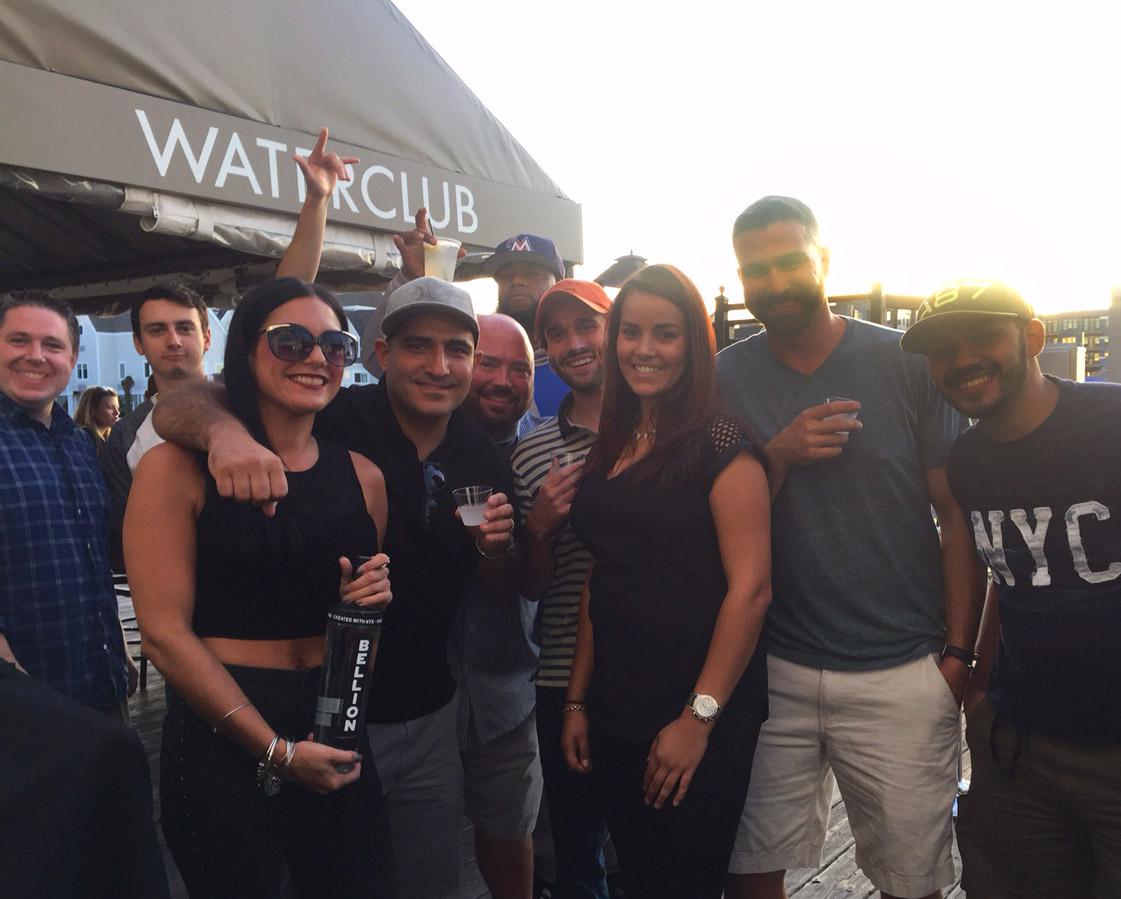 bellion vodka waterclub people