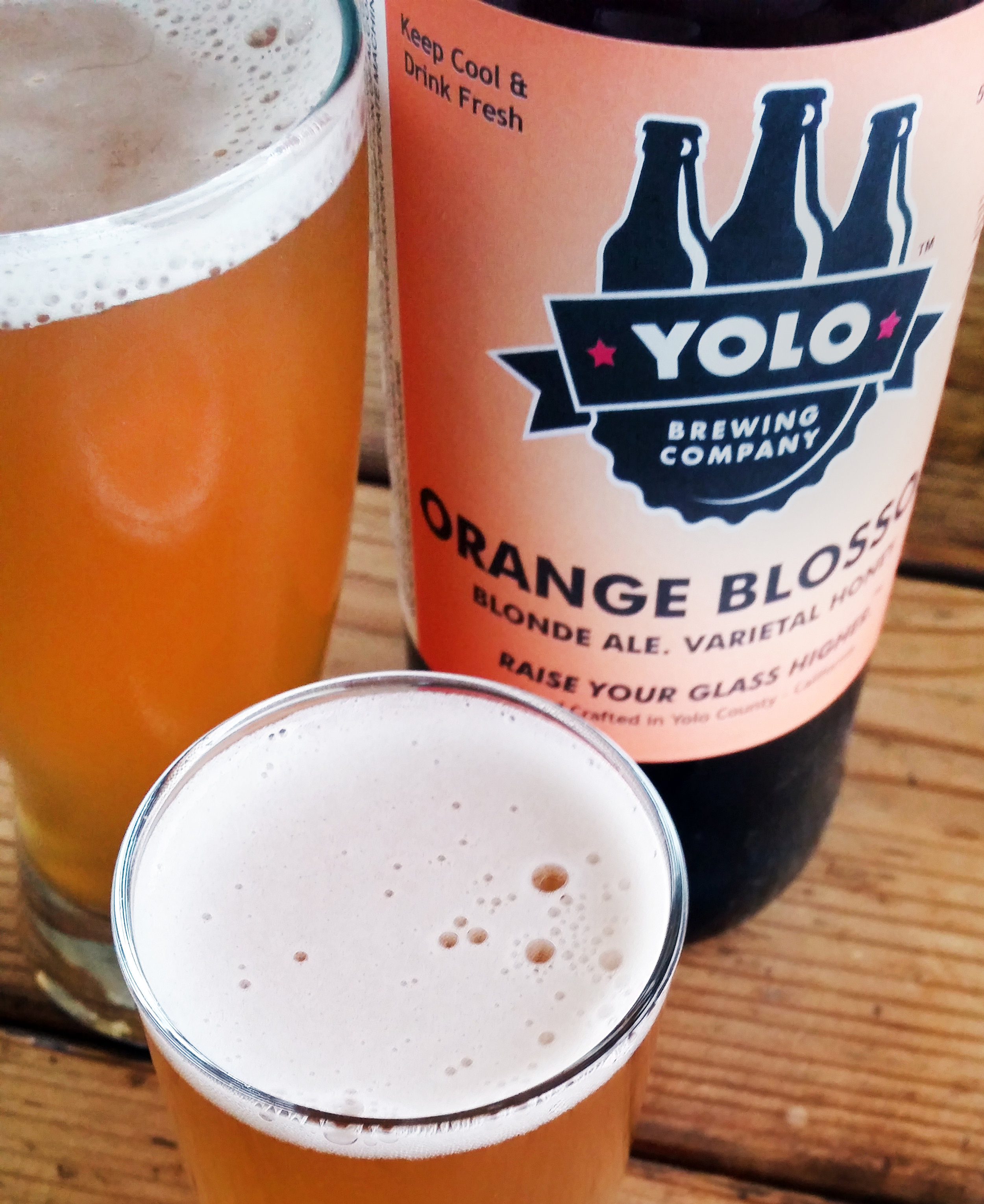Orange Blossom Blonde