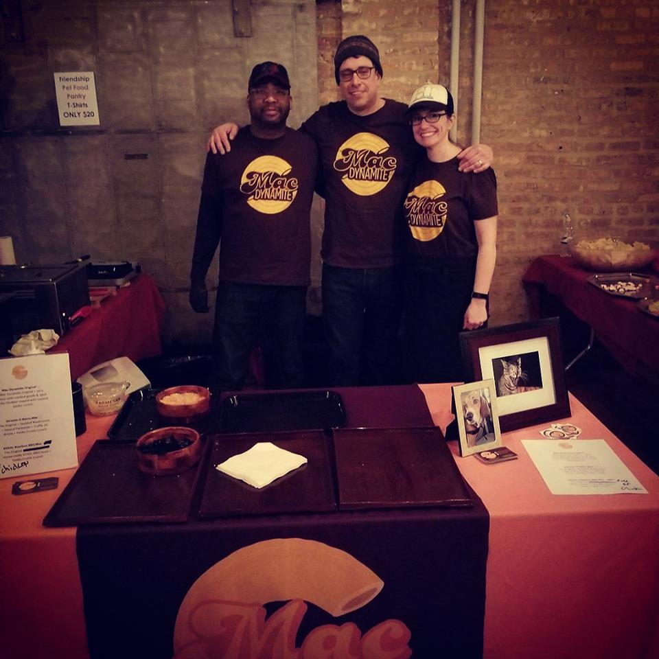 Team Mac Dynamite! From left to right: Eric, Jeffrey, & Virginia