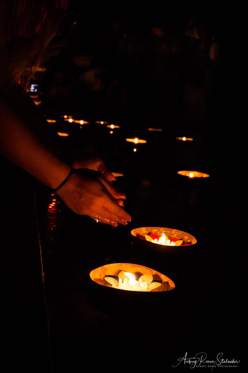 Krathong at Yi Peng Lantern Festival in Chiang Mai, Thailand