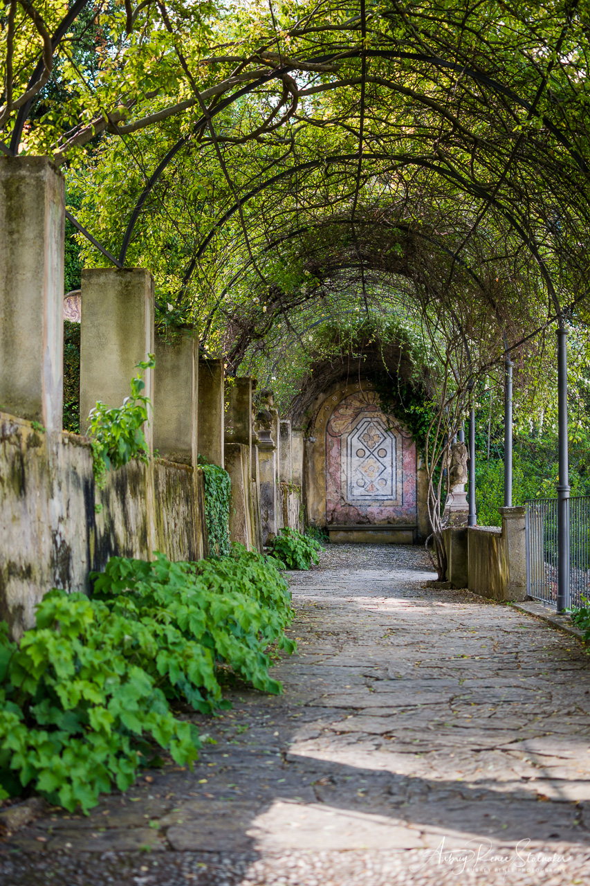 The Bardini Gardens in Florence, Italy