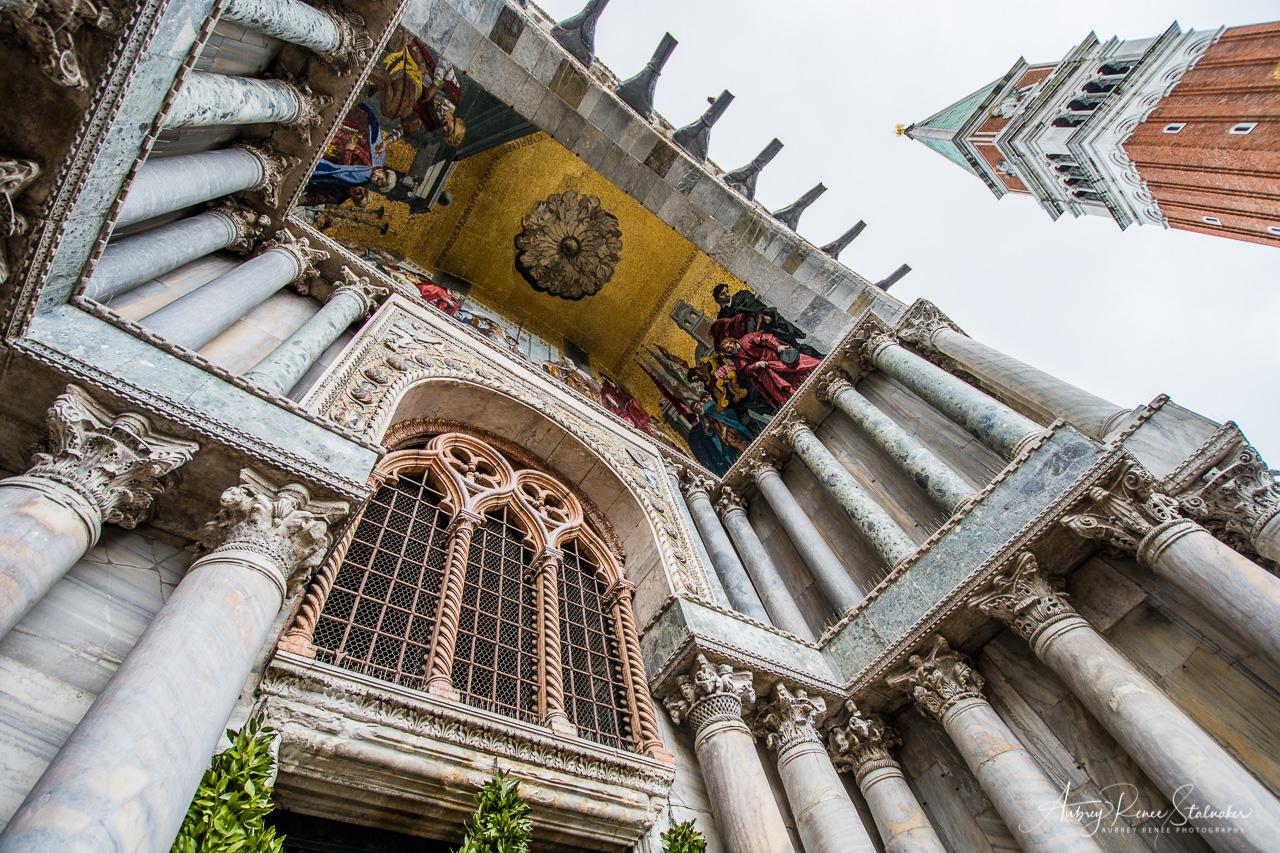 The Basilica San Marco and the Campanile di San Marco