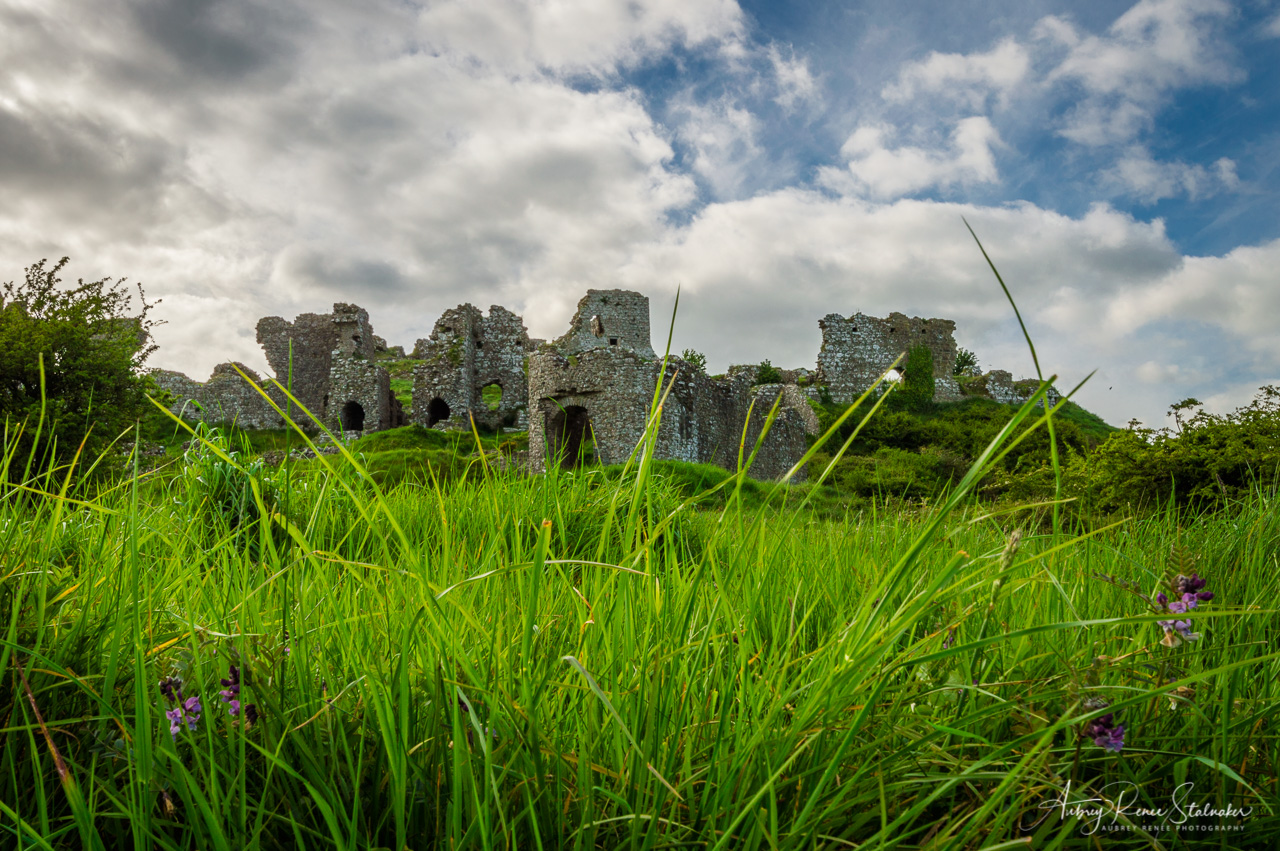 Rock of Dunamase in Ireland