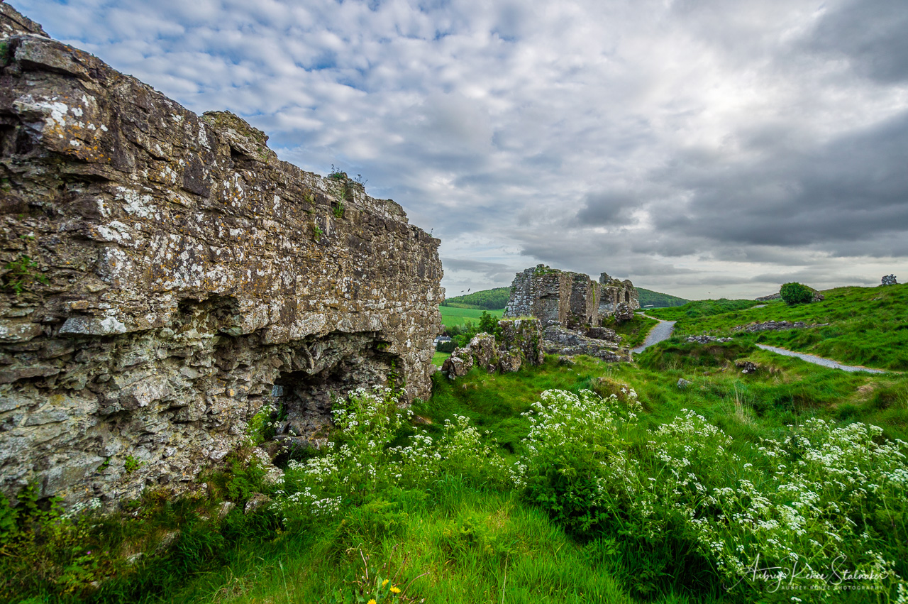 The Rock of Dunamase in Ireland