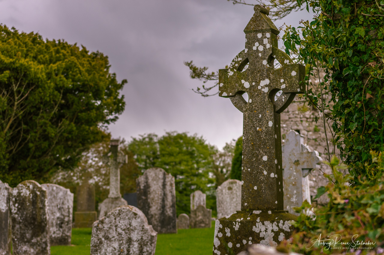 Cemetery in Ireland