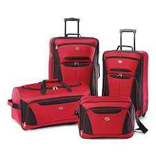 Red Tourister Bags