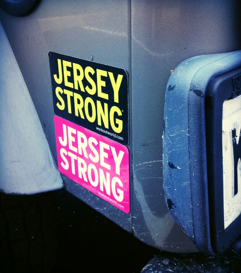 Jersey Strong tagline