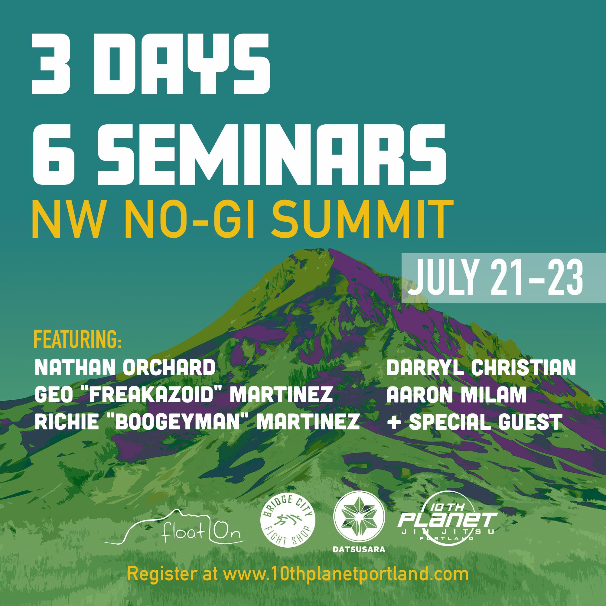NW NO-GI Summit 2017