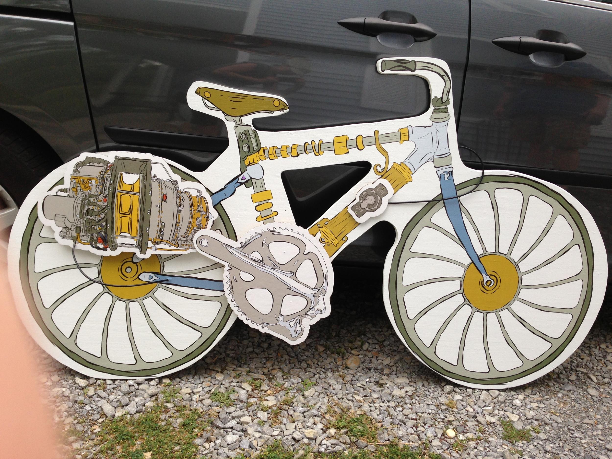 isaac bike against van.JPG