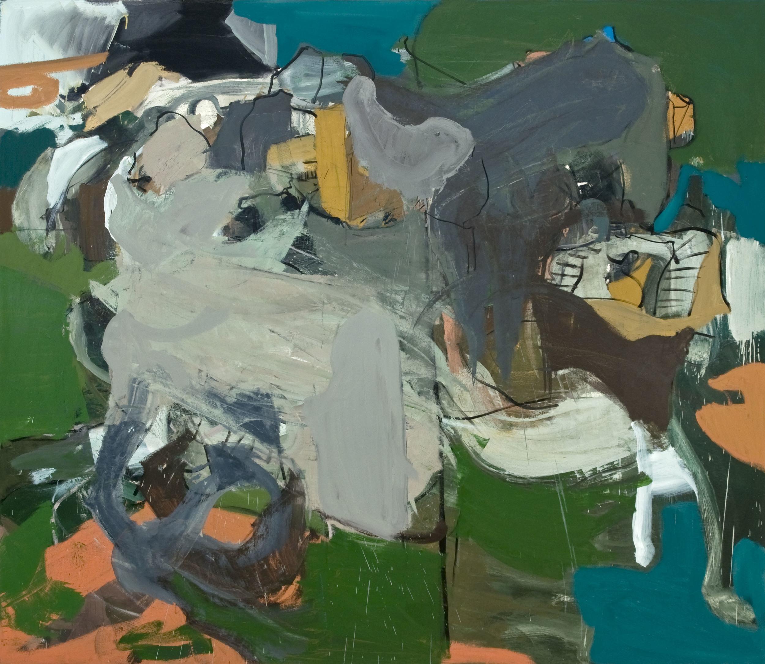 %22Secessionist Villa, Bydgoszcz, Pl%22, 2011, oil on canvas, 66%22 x 76%22.jpg