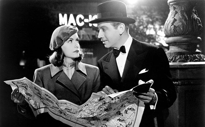 Greta Garbo Melvyn Douglas Ninotchka 1939.jpg