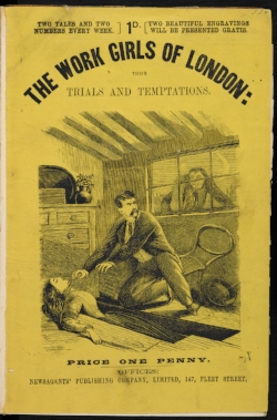 Front cover of  The Work Girls of London: Their Trials and Temptations  (1865). ( The British Library  I Creative Commons)