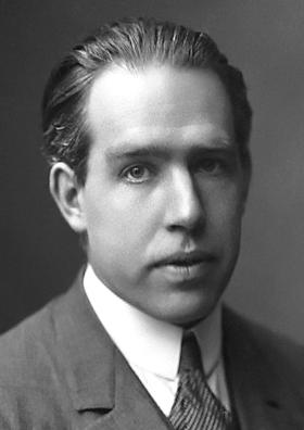 Niels Bohr, 1922. (  Wikimedia Commons      Public Domain)