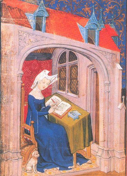 Christine de Pisan, 1407 ( Wikimedia Commons  | Public Domain)