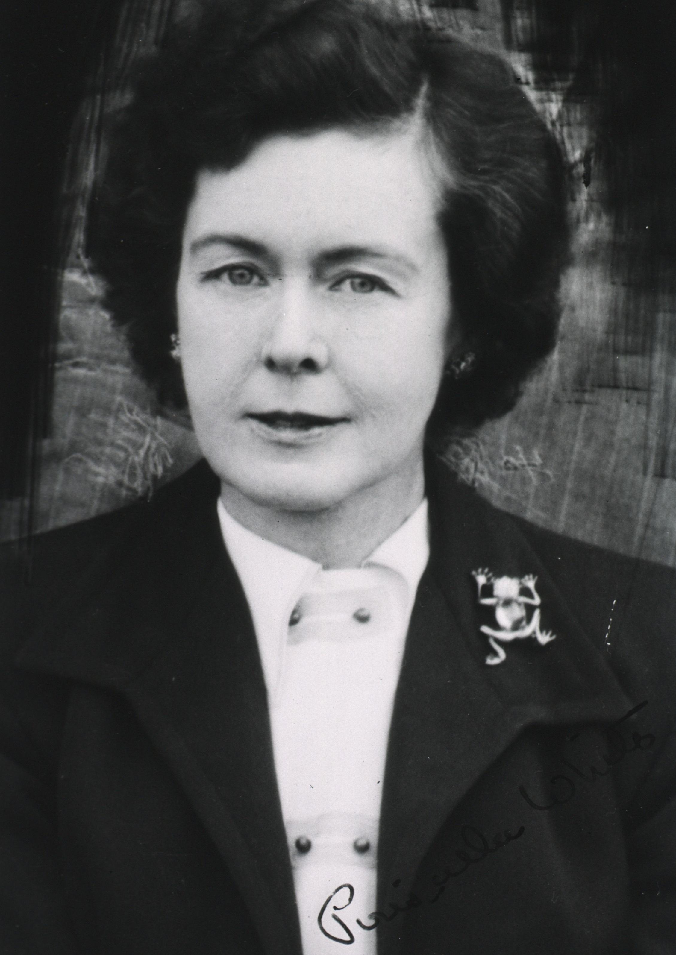 Priscilla White, 1950. Courtesy of the U.S. National Library of Medicine