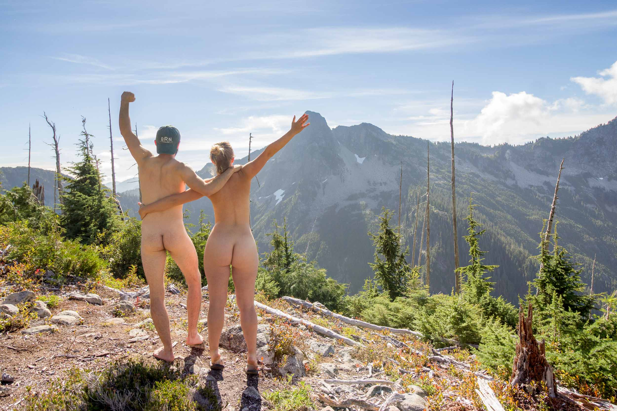Getting Naked in Nature Movement
