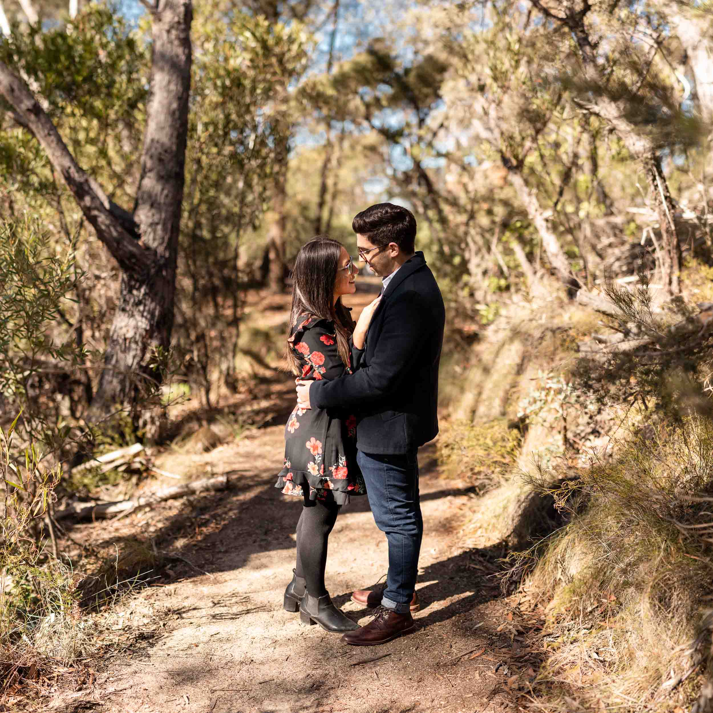 Cristian + Liana Proposal // Blue Mountains
