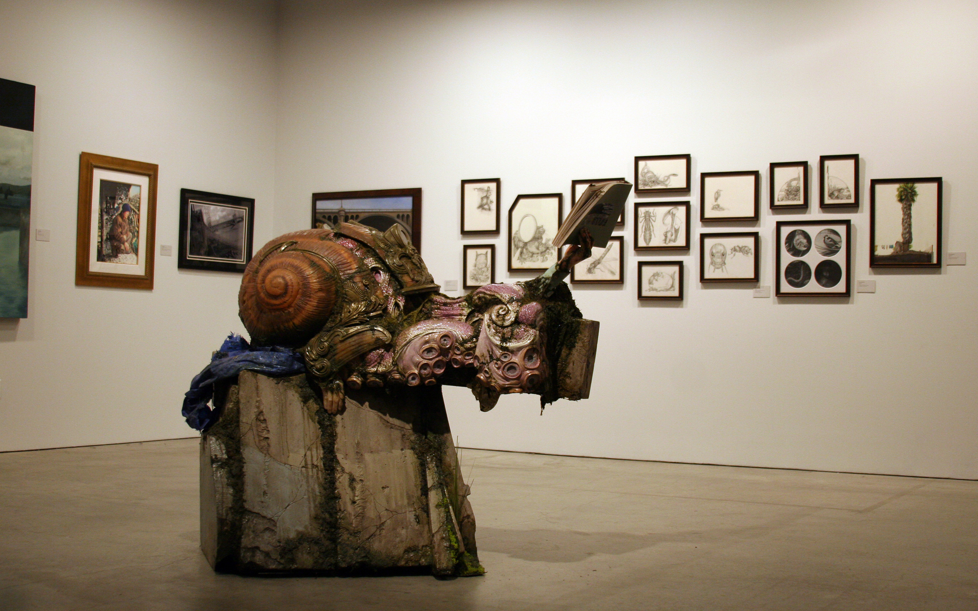 The Ulysses Guide to the Los Angeles River.  Exhibition at the Pasadena Museum of California Art, February 13 — July 3, 2010. Installation view.